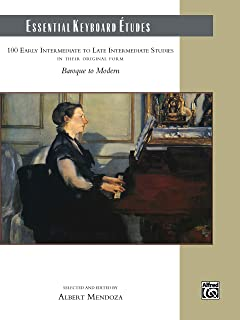 Essential Keyboard Études: 100 Early Intermediate to Late I