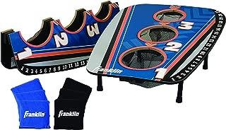 Franklin Sports 3 Hole Cornhole Foldable Toss Set - Includes 6 Bean Bags