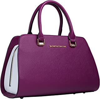 Juliette Darras Insulated Lunch Bag - Elegant, Multifunctional Lunch Tote Purse for Women (Fuchsia)