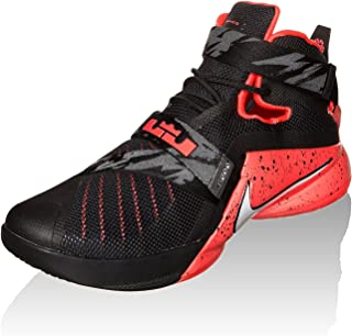 Nike Zoom Soldier IX, Black/White/Bright Crimson, 11.5 M US