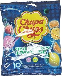 Chupa Chups Fruit Assorted Flavor Lollipop, 120 gm