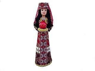 Handmade Armenian Doll Souvenir Wearing Traditional Clothing Taraz