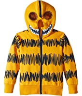 Stella McCartney Kids - Bandit Monster Full Zip-Up Hoodie Mask (Toddler/Little Kids/Big Kids)