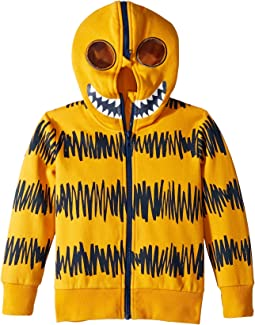 Bandit Monster Full Zip-Up Hoodie Mask (Toddler/Little Kids/Big Kids)