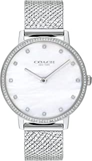 COACH AUDREY WOMEN's WHITE MOTHER OF PEARL DIAL WATCH - 14503358