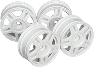 Tamiya hop up Options No.1674 OP.1674 5 this slit-spoke wheels (26mm width offset +2) four white 54674