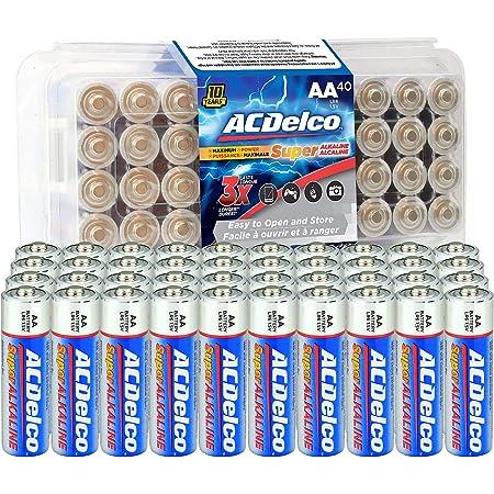 Anker AA Alkaline Batteries 4-pack, Maximum Power Super Alkaline Battery, 10-Year Shelf Life, Recloseable Packaging