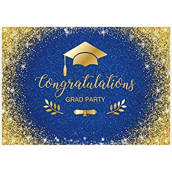 Zhy 7x5ft 2020 Graduation Party Backdrops Vinyl Congrats Grad Photography Backdrop Glitter Prom Party Banner Event Decoration Photo Booth Studio Props