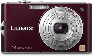 Panasonic Lumix DMC-FX 66 EG-K (14 megapixel 5-voudig optische zoom, 6,8 cm display, beeldstabilisator), aubergine