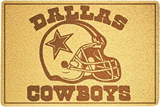 SOFIshop Dallas Cowboys - Door Mat Doormat Sweet Home Supplies Décor Accessories Unique Gift Handmade Present Idea Original Design Commercial Outside Inside Personalized Quotes Exterior