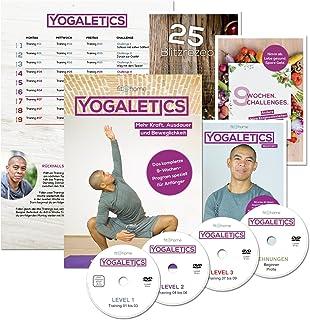 YOGALETICS: Premium Edition. Das 9-Wochen-Workout speziell für Anfänger. Mehr Kraft,..