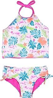 Tommy Bahama Girls' Baby 2-Piece Reversible Bikini Swimsuit Bathing Suit