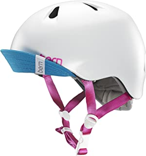 bern(バーン) ヘルメット NINA ガールズ 自転車 スケートボード BE-VJGSWTV-11 Satin White XS/S