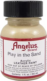 Angelus Acrylic Leather Paint 1 Oz Play in the Sand