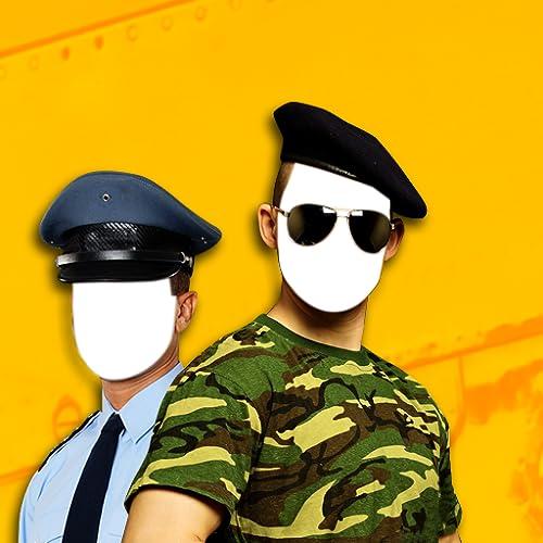 Police et armée Photo Montage