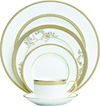 Vera Wang Wedgwood 5014697730 Vera Lace Gold 5-Piece Dinnerware Place Setting
