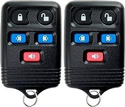 KeylessOption Keyless Entry Remote Control Car Key Fob Replacement for CWTWB1U511 (Pack of 2)