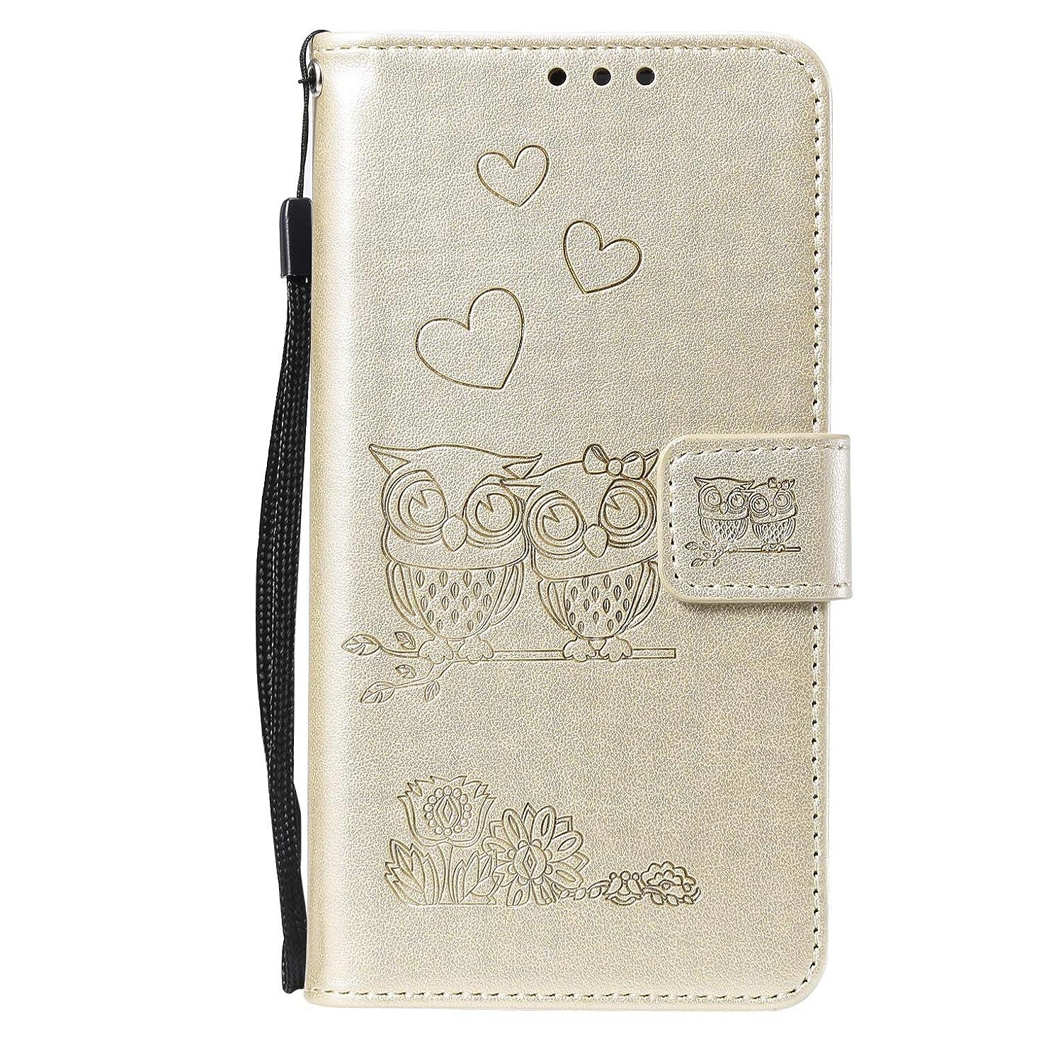 期限表示ベースLomogo Huawei Honor 10 ケース 手帳型 耐衝撃 レザーケース 財布型 カードポケット スタンド機能 マグネット式 ファーウェイHonor10 手帳型ケース カバー 人気 - LOHHA100538 金