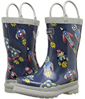 Hatley Kids - Retro Rocket Rainboots (Toddler/Little Kid)