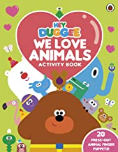 Hey Duggee: We Love Animals Activity Book: With press-out finger puppets!