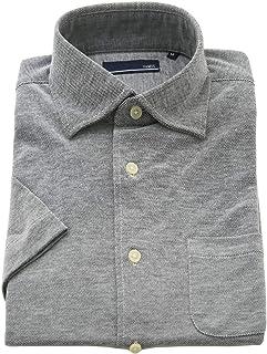 BUSINESSMAN SUPPORT(ビジネスマンサポート) ワイシャツ 半袖ホリゾンタルシャツ メンズ クールビズ 吸水 速乾 消臭 ノーアイロン