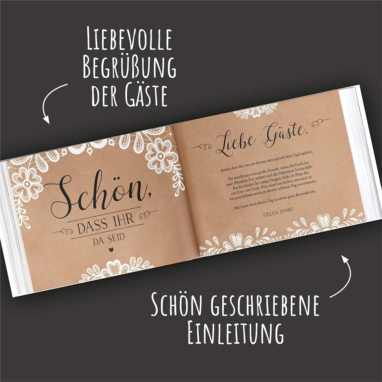 Lustig hochzeit vorwort gästebuch 20 Hochzeitssprüche