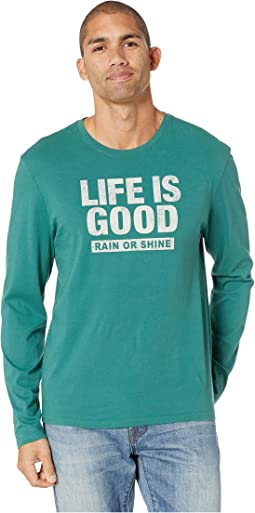 LIG Rain or Shine Long Sleeve Smooth T-Shirt
