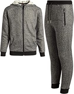Boys 2-Piece Active French Terry Hoodie and Jogger Set