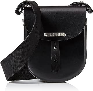 Brooks England B1 Moulded Leather Bag, Small, Black