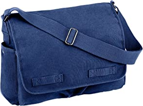 rothco vintage multi pocket messenger bag