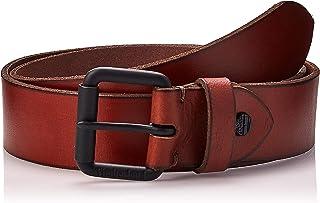 حزام جلدي للرجال من تيمبرلاند - بني، مقاس S