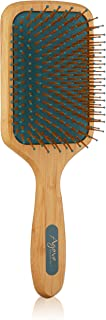 Agave Healing Oil Smooth and Shine Natural Bamboo Paddle Brush