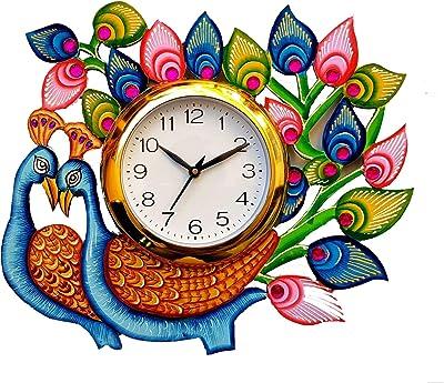 pratham's art emporium Wooden Wall Clock