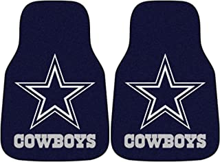 Fanmats Dallas Cowboys Team 2 Piece Car Mats
