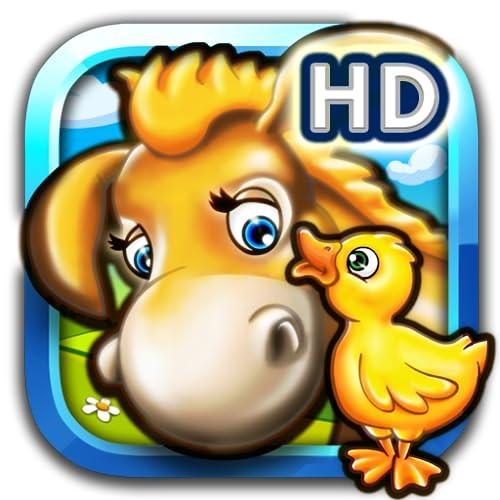 Tier Puzzle Bauernhof für Kinder und Kindergartenkinder HD gratis mit bunten Farm Tieren für Jungen und Mädchen mit Tiere Puzzles wie Pferd Kuh Ziege und Schaf und Haustier Puzzle Spiele Hund und Katze