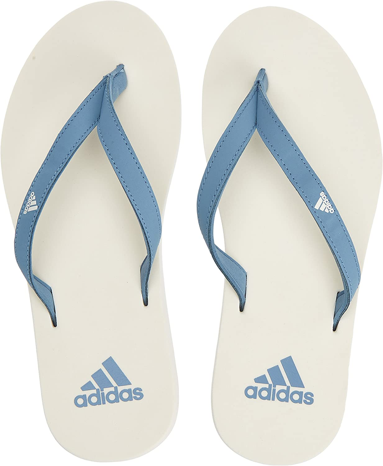 Adidas Women Swimming Eezay Flip-Flops Pool Beach Sandals Tong CG3558 Sporty