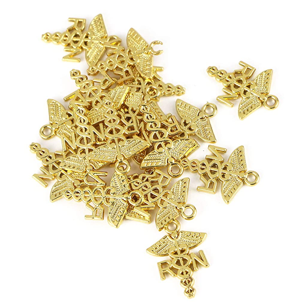 Monrocco 20Pcs Alloy Medical Charms for Jewelry Making