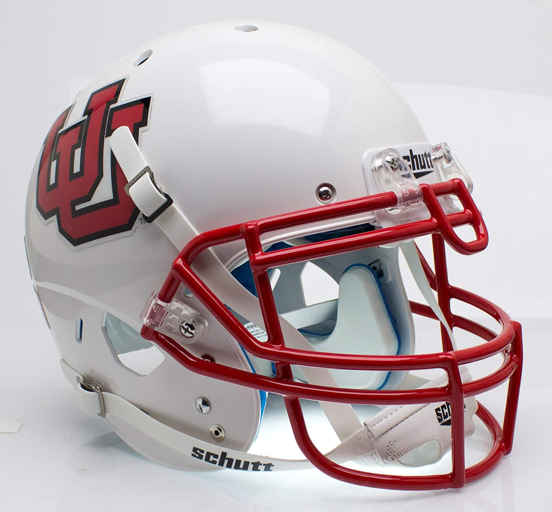 Schutt NCAA Utah Utes Collectible On-Field Authentic Football Helmet