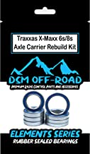 Traxxas X-MAXX 6s & 8s Wheel Hub Axle Carrier Bearing Kit Set (8 Bearings)