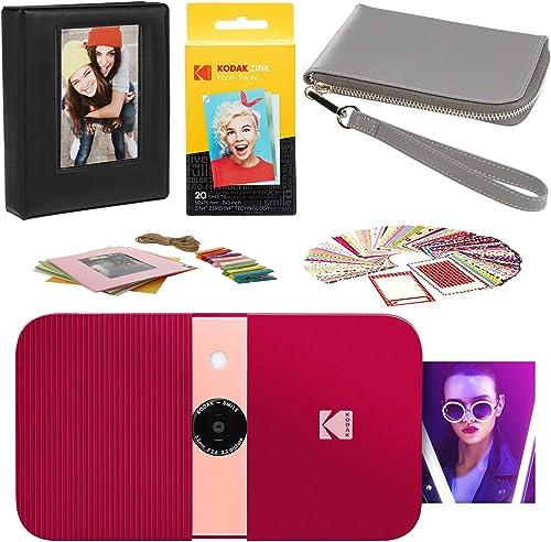 popular KODAK Smile online wholesale Instant Print Digital Camera (Red) Carrying Case Kit online sale