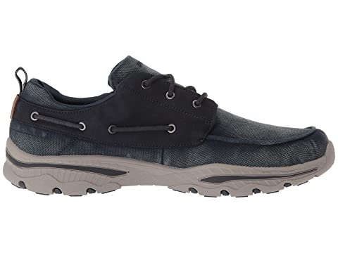 Relaxed SKECHERS Fit Vosen Creston NavyTaupe rqXrdTw