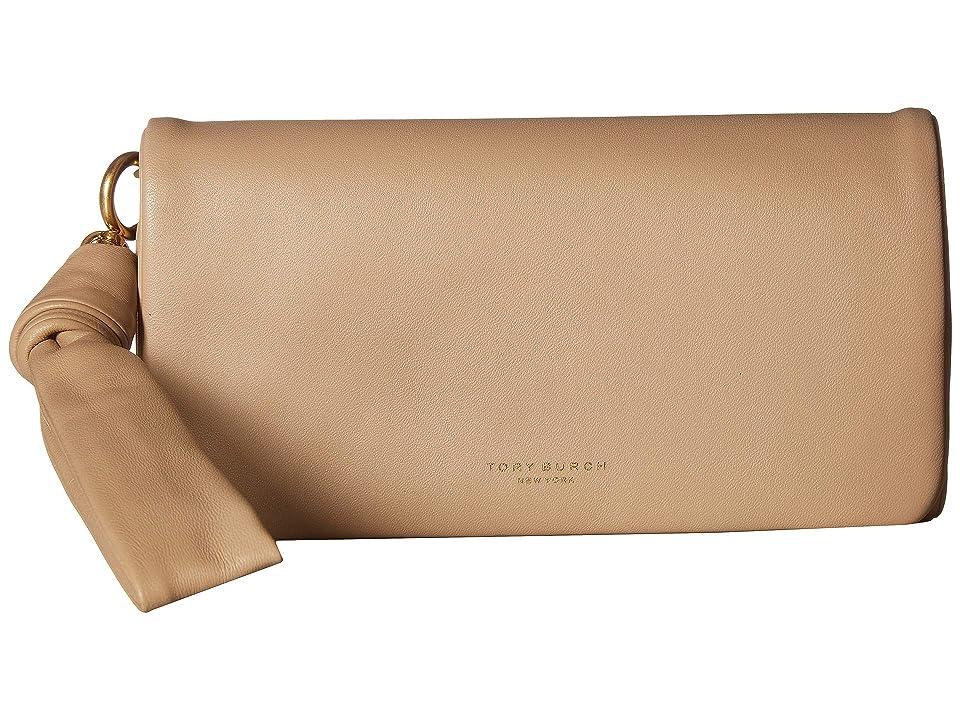 Tory Burch Beau Wristlet (Perfect Sand) Wristlet Handbags