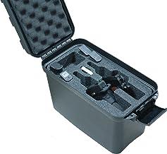 Case Club 2 Revolver/Pistol Pre-Cut Top Loader Case with Silica Gel to Help Prevent Gun Rust