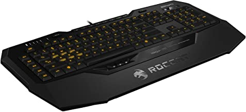 ROCCAT Isku+ Force FX - RGB Gaming Keyboard with Pressure-Sensitive Key Zone