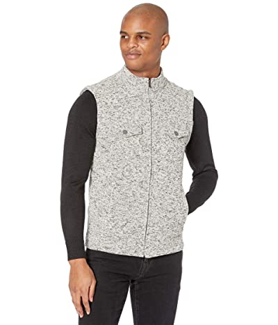 The Normal Brand Lincoln Fleece Vest (Grey) Men