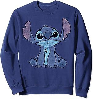 Disney Lilo & Stitch Distressed Stitch Portrait Sudadera