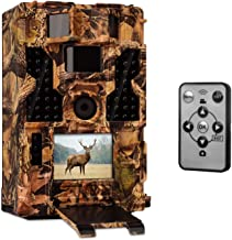 Clobo Trail Camera- Waterproof 20MP 1080P Game Camera with Night Vision Motion Activated 0.2s Trigger Speed 3PIR 42IR LEDs 120° Detecting Range CamsTime Lapse for Wildlife Monitoring Home Security