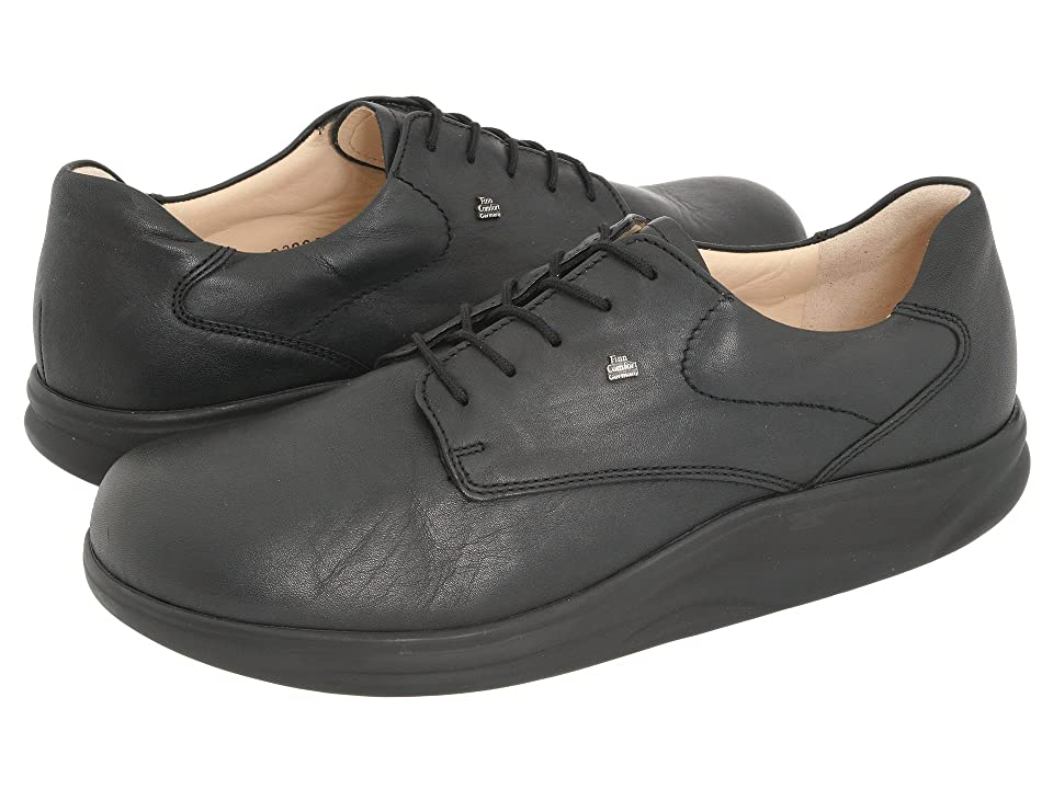 Finn Comfort Pretoria 2901 (Black Seda Nappa) Lace up casual Shoes