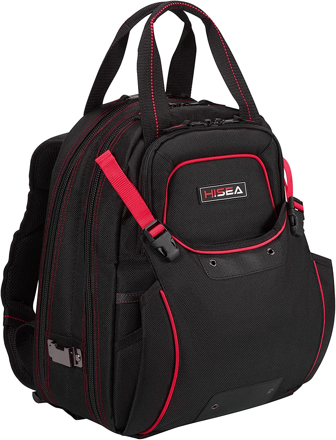 HISEA Tool Backpack Cheap super special price Electrician Screwdriver Or Bag OFFicial store Mechanic