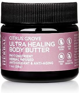 Ultra Healing Body Butter, Marjoram Essential oil, Bergamot Essential Oil, Organic Shea Butter,Natural Body...